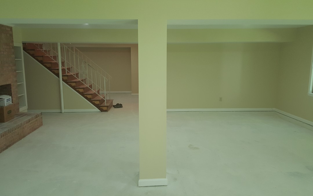 Basement Renovation Clifton VA